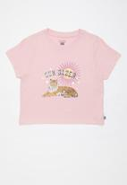 Free by Cotton On - Lulu short sleeve T-shirt - pink