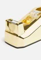 H&S - Tape dispenser - gold