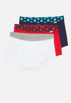 Happy Socks - 3-Pack pop trunk - multi