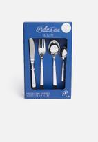 Nicolson Russell - Bella casa tortellini 24pce cutlery set - silver
