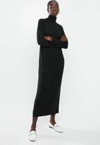 Brave Soul - Maxi jumper dress - black