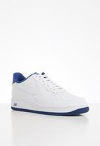 Nike - Air Force 1 '07 - white / deep royal-white