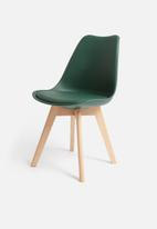 Sixth Floor - Ada dining chair - green