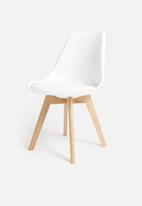 Sixth Floor - Ada dining chair - white