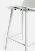 Sixth Floor - Felix kitchen stool - light grey
