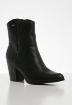 Miss Black - Cowgirl boot - black