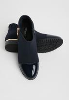 Miss Black - Hadar ankle boot - navy