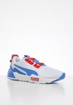 PUMA - Cell phase - Puma white-high risk red-pala