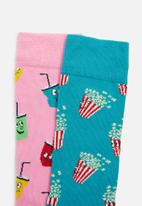 Happy Socks - Snacks gift box - multi