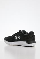 Under Armour - UA w charged rogue 2 - black / halo gray / white