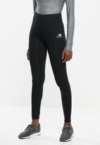 New Balance  - Essential stacked logo legging - black