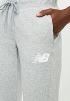 New Balance  - Classic fleece sweat pants - grey