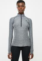 New Balance  - Transfor, half zip jacket - black & grey