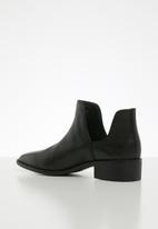 Steve Madden - Joella bootie - black leather