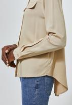 Superbalist - Utility style shirt - beige