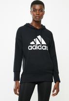 adidas Performance - Bos long hoodie - black