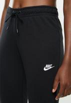 Nike - Nsw essential fleece pants - black