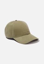 Rubi - Selina structured cap - khaki be a nice human