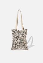 Rubi - Take it all in tote - leopard