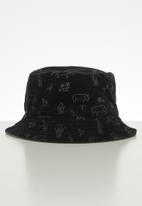Cotton On - Reversible bucket hat - black & khaki