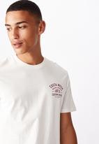 Cotton On - Tbar moto T-shirt - vintage white