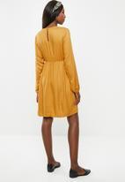 Superbalist -  Maternity  Babydoll sweater dress - mustard