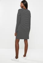 Superbalist - Maternity Long sleeve tee dress - stripe