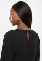 Superbalist - Tier midi dress - black