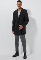 Superbalist - Smart overcoat - black