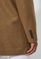 Superbalist - Smart overcoat - brown