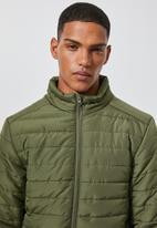 Superbalist - Lightweight puffer jacket - khaki