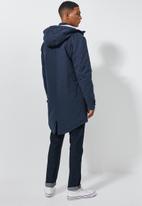 Superbalist - Padded parka jacket - navy