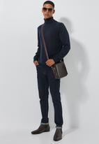 Superbalist - Premium slim fit roll neck knit - navy