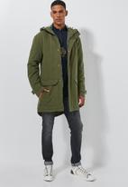 Superbalist - Padded parka jacket - khaki