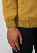 Superbalist - Premium crew knit - yellow