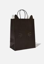 Typo - Novelty stuff it bag medium - black cat face