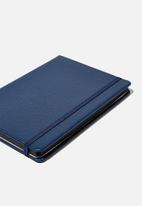 Typo - A5 buffalo journal - navy