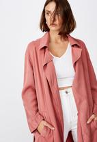 Cotton On - Must have trench - pink