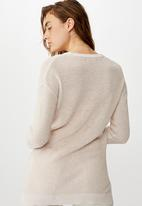 Cotton On - Archy 6 pullover - neutral