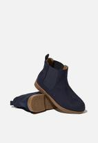 Cotton On - Chelsea gusset boot -  navy