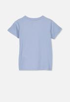 Cotton On - Lux short sleeve tee - blue