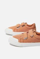 Cotton On - Multi strap trainer - amber brown