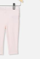Cotton On - Quinn ruffle legging - crystal pink