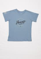 Quiksilver - South Africa howzit short sleeve boy - blue