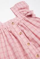 Cotton On - Polly placket dress - pink