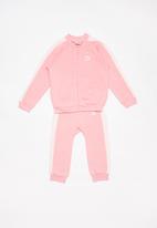 PUMA - Minicats t7 jogger tracksuit  - pink & white