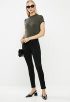 MANGO - Jeans sculpt - black