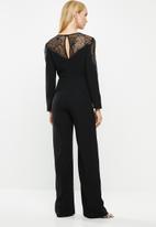 MANGO - One-piece suit elise - black