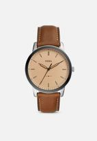 Fossil - The minimalist 3h - brown