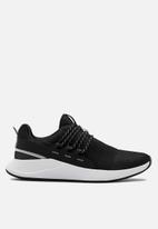 Under Armour - Charged breathe lace - black / white / halo gray